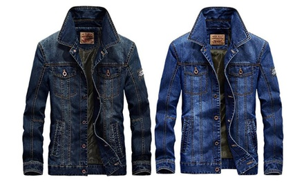 Jeans-Jacke für Herren in Blau oder Navy