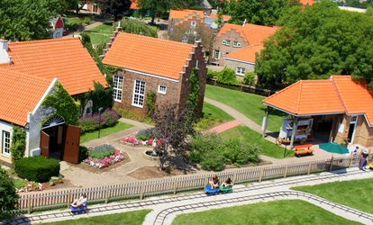image for Admission for Two with Optional Wine and Cheese Tasting for Two Adults at Nelis' Dutch Village (Up to 40% Off)