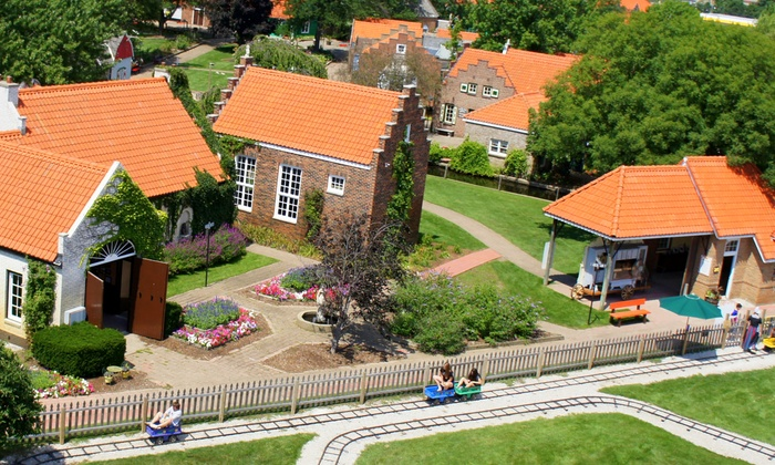 Nelis' Dutch Village - Beechwood: Theme-Park Visit for Two with Optional Wine and Cheese Tasting at Nelis' Dutch Village (Up to 47% Off)