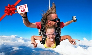 Skydive The Southern Vines: Tandem Skydive: 9,000ft ($289) or 14,000ft ($439) (Plus $30 Levy) with Skydive The Southern Vines (Up to $810 Value)