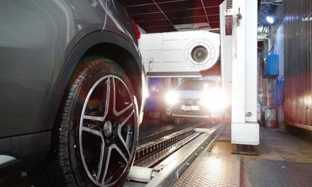 Lavado interior y exterior del vehículo con opción a tapicería de asientos  desde 9,99 € en Tren de Lavado Letamendi