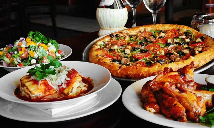 $12 for $20 Worth of Pizza and Italian Food at Streets of New York