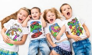 T-shirt pour enfant à colorier