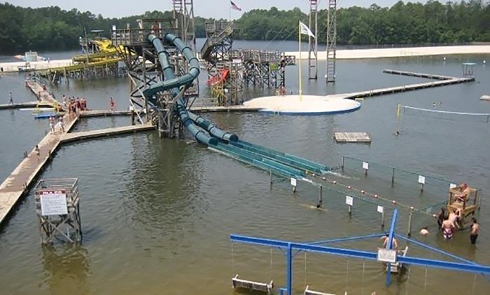 fantasy lake water park in hope mills  nc