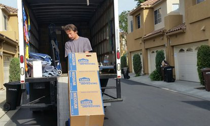 image for Two or Three Hours of Moving Services with Two Movers and Truck from Safe N Fast Movers (Up to 55% Off)