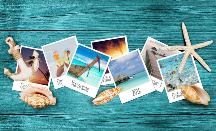 Lot de 30 cartes-photo PolaPrint et leur coffret personnalisable avec l'Atelier du Livre à 8,99 € (70 % de réduction)