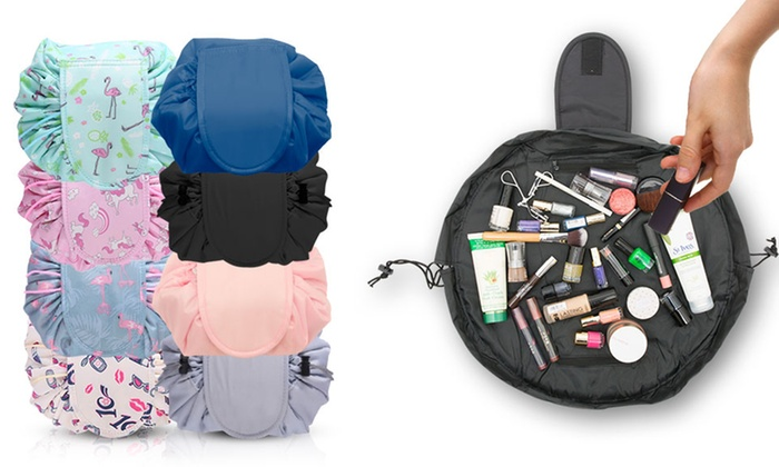 Travel Cosmetic Drawstring Bag Pouch