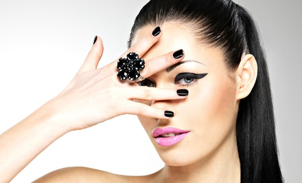 One or Three Shellac or Gel Manicures from Miranda at Style Lounge Salon (Up to 57% Off)