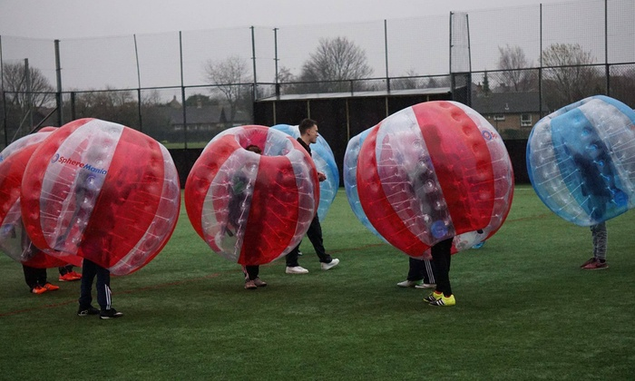Adrenalin Activ Trading as SphereMania Nottingham - Main Rd: One Hour of Zorb Football for Up to 15 People at SphereMania
