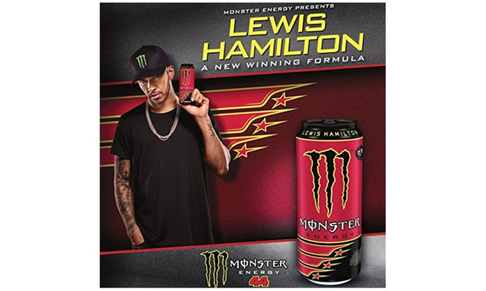 Monster Energy Lewis Hamilton Groupon