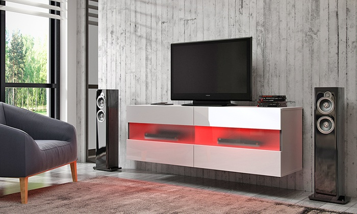 Zwevend tv meubel groupon goods - Meubilair tv rode ...