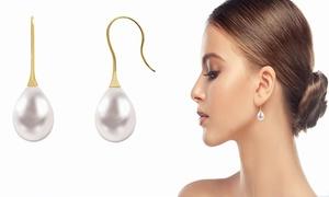 Boucles d'oreilles Argent et Perle