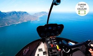Rio Helicopter Experience: Rio Helicopter Experience – Barra da Tijuca: passeio de helicóptero pra 3 pessoas