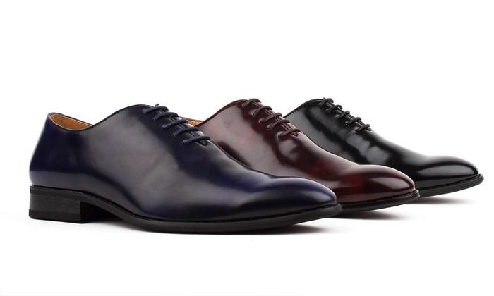 Signature Men's Oxford Shoes | Groupon Goods