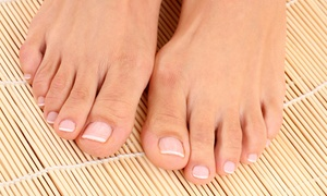 Home Feet Cares: Laser Toenail Fungus Removal with Consultation for One or Two Feet at Home Feet Cares (Up to 73% Off)