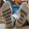 """""""Bring mir einen Whiskey""""-Socken"""