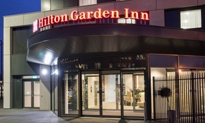 Hilton Garden Inn Manchester Emirates Old Trafford: Two-Course Meal with Prosecco for Two or Four at Hilton Garden Inn Manchester Emirates Old Trafford (Up to 56% off)