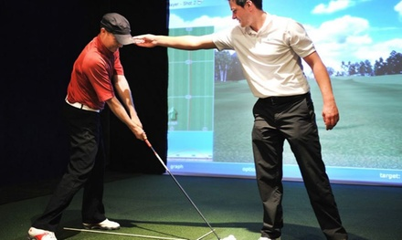 Individual Golf Lessons with PGA Professional for One or Two at Affordable Golf, Two Locations (Up to 65% Off)