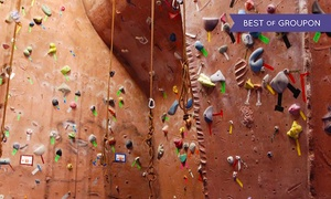Stoneworks Climbing Gym: Five Visits with Gear or One Month of Unlimited Wall Access with Gear at Stoneworks Climbing Gym (47% Off)