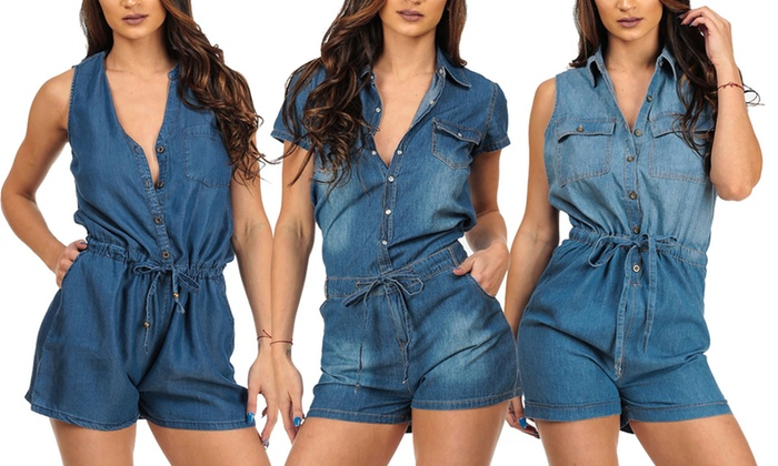 2e8e7b720 Up To 66% Off on Women s Short Sleeve Rompers