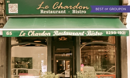 £55 Toward Food and Drinks for Two at Le Chardon (Up to 55% Off)