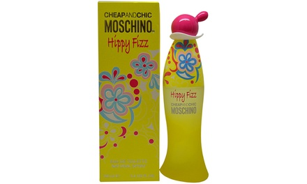 Moschino Cheap and Chic Hippy Fizz Eau de Toilette for Women; 3.4 oz