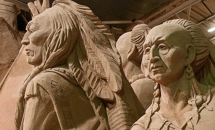 Niagara Sand Sculptures Exhibition Visit for One or Two Adults, or Two Adults and Two Children (Up to 54% Off)