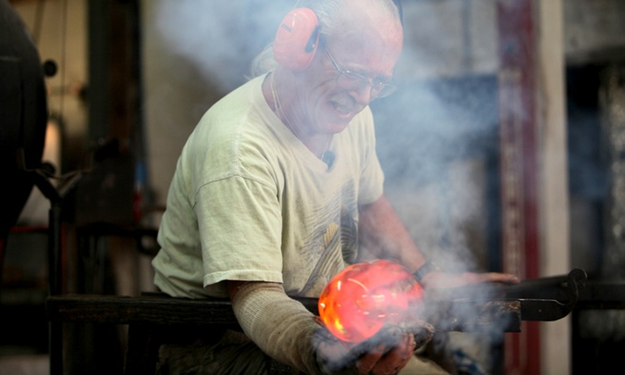 Vandermark Merritt Glass Studios - Branchburg: Glass-Blowing Experience at Vandermark Merritt Glass Studios (Up to 51% Off). Three Options Available.