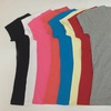 Junior's V-Neck T-Shirts in Assorted Colors (8-Pack)  (Size S)