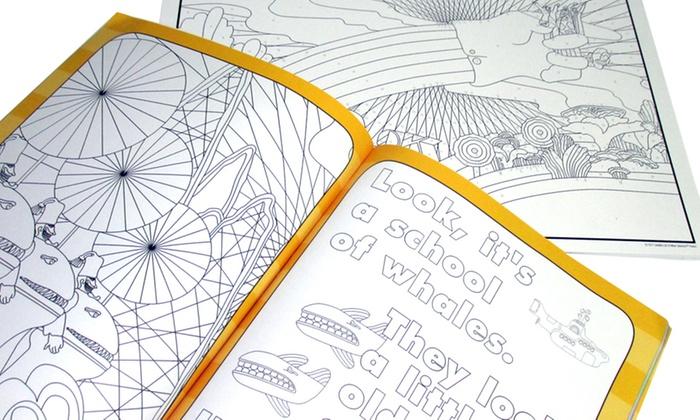crayola the beatles yellow submarine adult coloring book set 2 piece crayola - Beatles Coloring Book