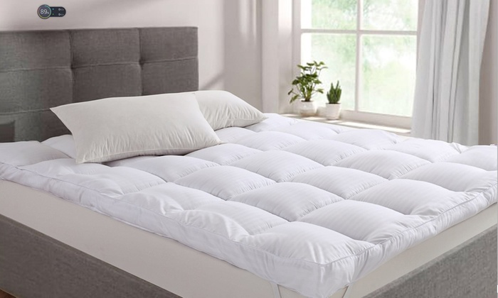 Dickens 10cm Feels Like Down Mattress Topper in Choice of Size from £19