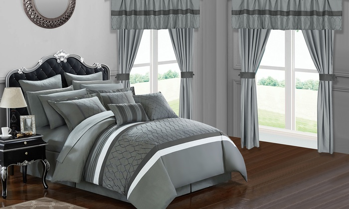 Up To 80% Off on Bedroom-in-a-Bag Set (24-Piece) | Groupon Goods