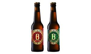 Bizantina: Visita a la fábrica de cerveza Bizantina para 2, 4, 6 u 8 personas con cata, snack y cerveza para llevar desde 9,95 €