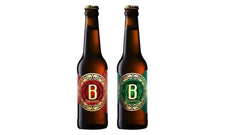 Visita a la fábrica de cerveza Bizantina para 2, 4, 6 u 8 personas con cata, snack y cerveza para llevar desde 9,95 €