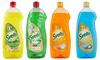 12 confezioni da 1000 ml di detersivo per piatti Svelto