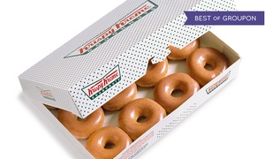 Krispy Kreme: $11 for Two Dozen Original Glazed Doughnuts at Krispy Kreme, Valid at Select Locations ($22.98 Value)
