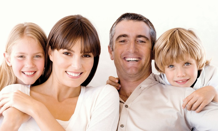 New England Dental - Multiple Locations: $49 for a Dental Exam, X-rays, and Cleaning at New England Dental ($336 Value)