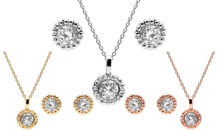 Alura Necklace and Earrings Set with Crystals from Swarovski®