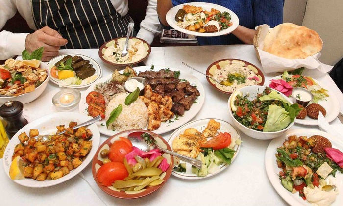 The Cedar - St John's Wood: Eight-Dish Lebanese Tasting Menu with Sides at The Cedar (Up to 60% Off)