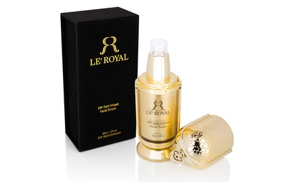 Le Royal 24K Gold–Infused Facial Serum (1 Fl. Oz.)