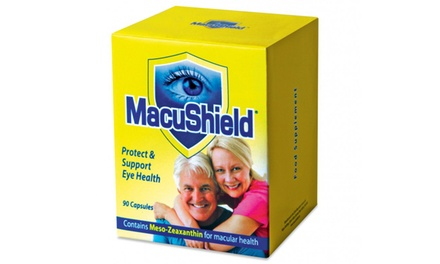 90, 180 or 270 Capsules of Macushield Eye Supplement from £26.99 With Free Delivery (Up to 50% Off)