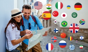 Application active de cours de langue en ligne