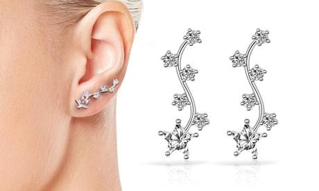 1 o 2 pendientes estrella Philip Jones con cristales de Swarovski®