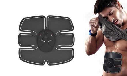 1 o 2 electroestimuladores para ayudar al crecimiento muscular abdominal