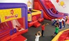 BounceU - Multiple Locations: $12 for Two Open-Bounce Sessions for One at BounceU ($25.90 Value)