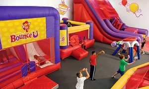 54% Off Two Open-Bounce Sessions at BounceU at BounceU, plus 6.0% Cash Back from Ebates.