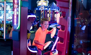 69% Off Arcade Games at GameWorks  at GameWorks, plus 6.0% Cash Back from Ebates.