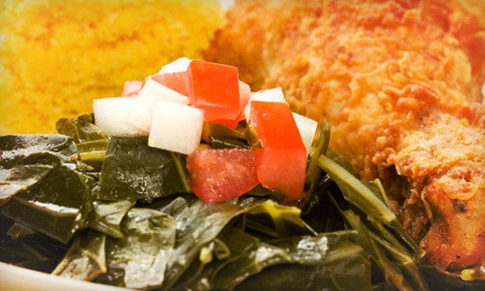 Daddy D's Suber Soulfood - Hendersonville: $7 for $14 Worth of Southern Food and Drinks at Daddy D's Suber Soulfood