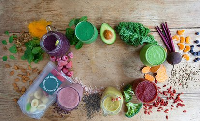 image for Delivered Weekly Five or Ten Ready-To-Blend Smoothie Packs from The Honestly Good Smoothie Company (Up to 46% Off)