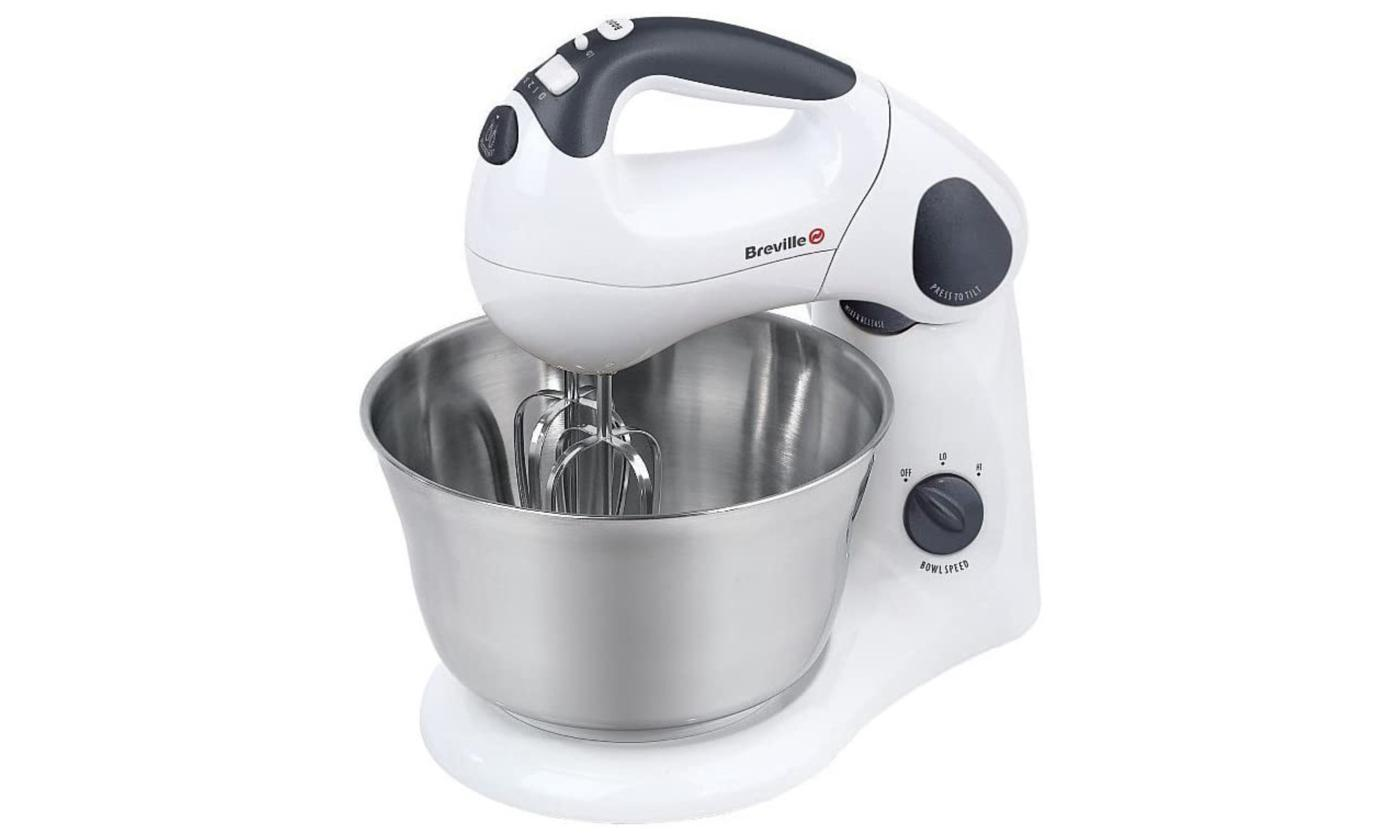Breville Compact Twin Motor Hand and Stand Food Mixer